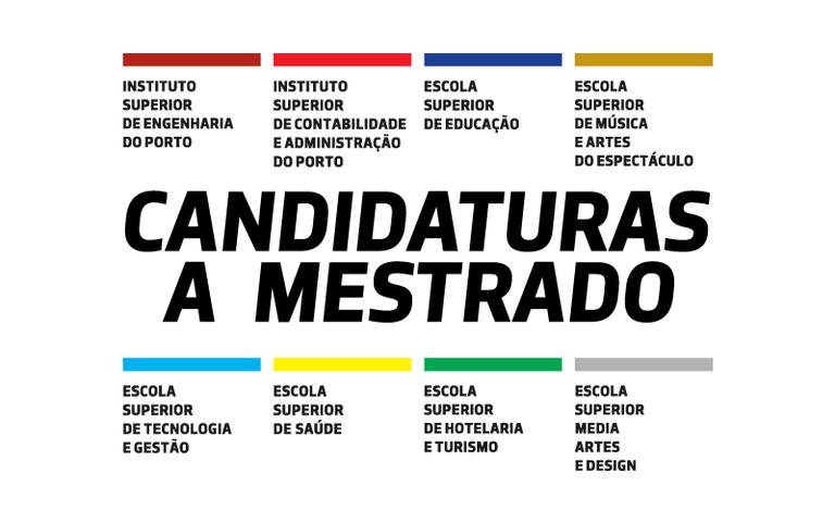 Candidaturas a Mestrados 2018/2019