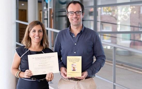 ISEP's innovative pedagogical method wins award