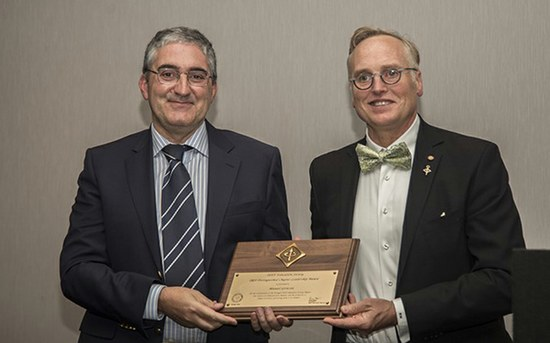 Largest engineering society in the world distinguishes ISEP professor