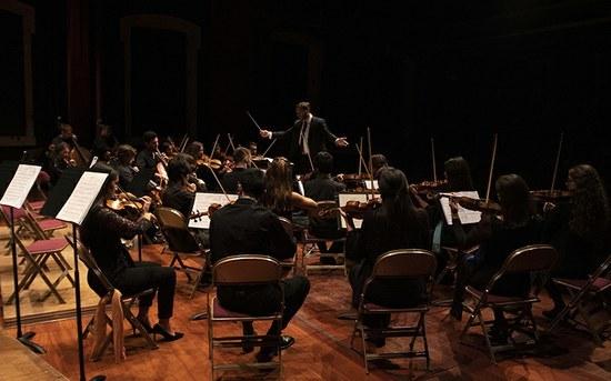 P.PORTO Classical Orchestra performs in the Algarve
