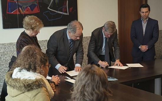 Assinados os primeiros acordos de colaboração FAES-P.PORTO