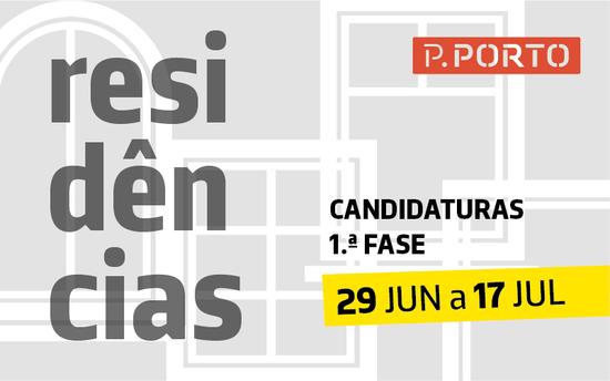 Candidaturas a Residências P.PORTO
