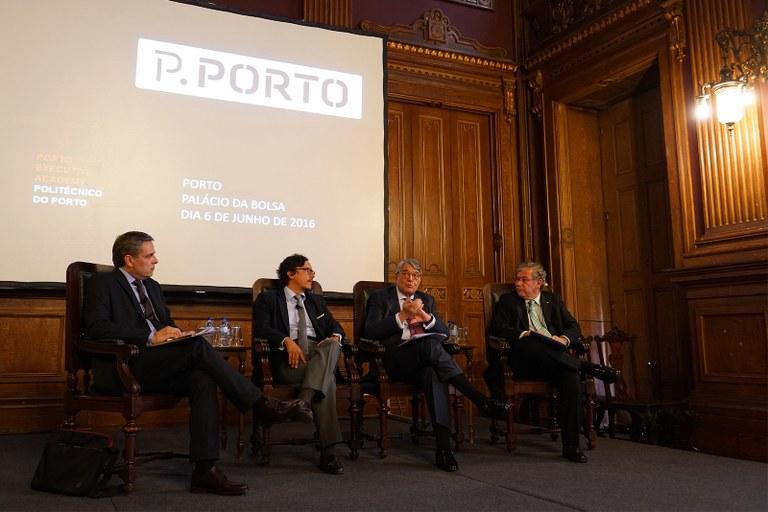 Cerimónia de lançamento da Porto Executive Academy