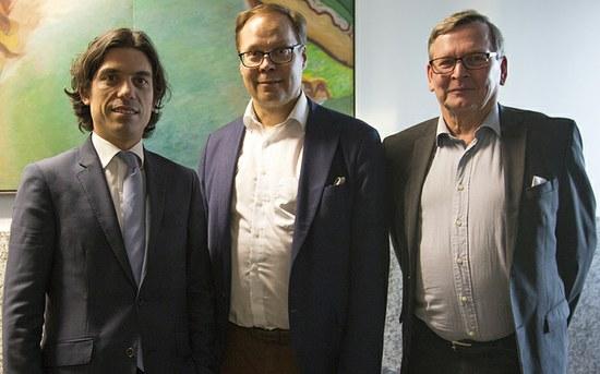 Comitiva da Finlândia visita modelo de alojamentos SAS P.PORTO