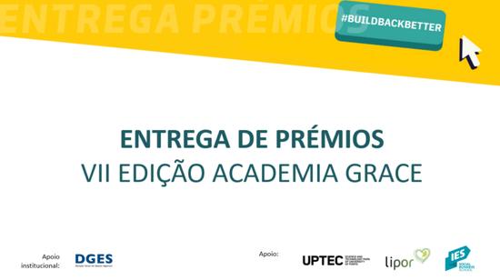 Estudante do P.PORTO vence o Prémio Impacto da VII Edição Academia GRACE
