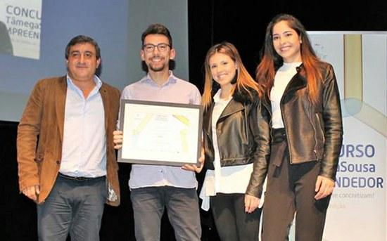 Estudantes da ESTG vencem concurso TâmegaSousa Empreendedor