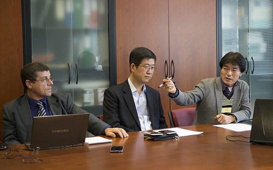 Estudantes sul-coreanos apresentam projetos no P.PORTO