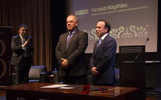 Fernando Magalhães é o novo presidente do ISCAP