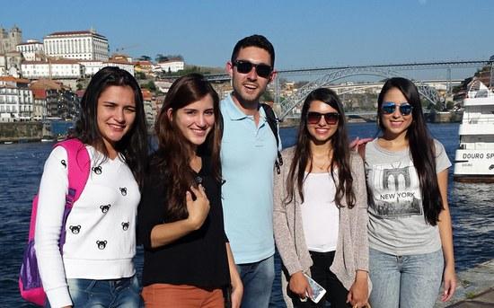 IFMG envia cinco estudantes para estágios de imersão em grupos de pesquisa do Politécnico do Porto