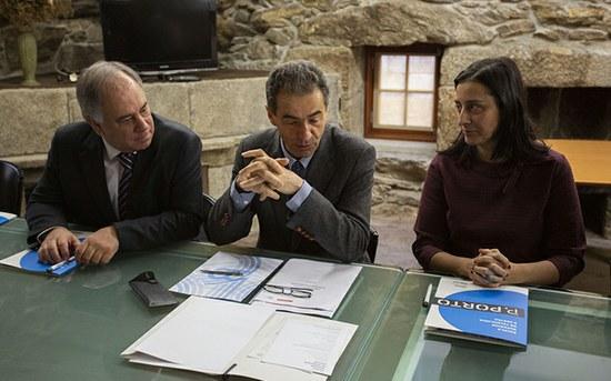 Manuel Heitor visita a ESTG