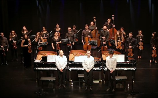 Orquestra Clássica do P.PORTO apresentou-se em Loulé