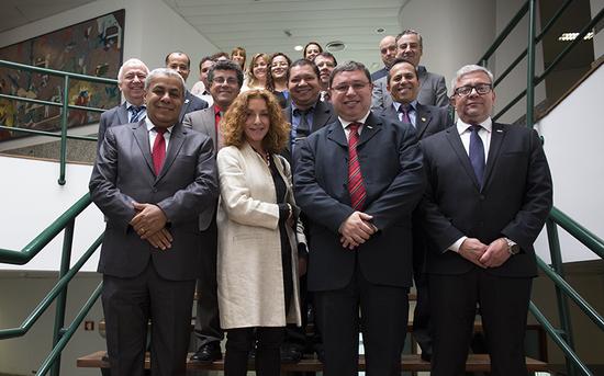 P.PORTO acolhe comitiva de reitores dos Institutos Federais do Brasil