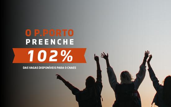 P.PORTO preenche 102% das vagas disponíveis para o CNAES