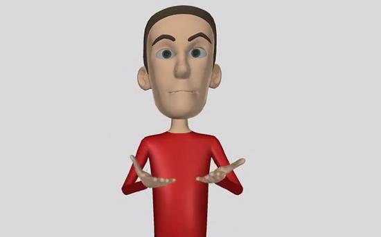 Tradutor de língua gestual em idiomas diferentes