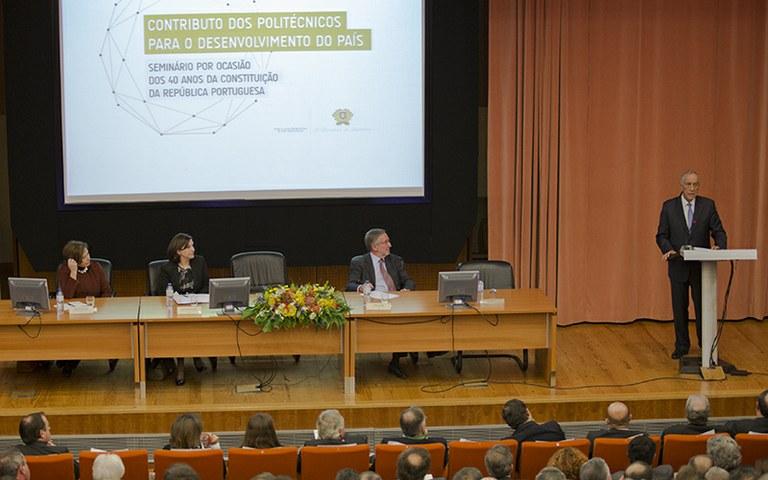 Presidente da República abre debate sobre o Contributo dos Politécnicos para o Desenvolvimento do País