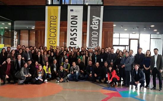 Projeto liderado pelo P.PORTO em Santiago do Chile