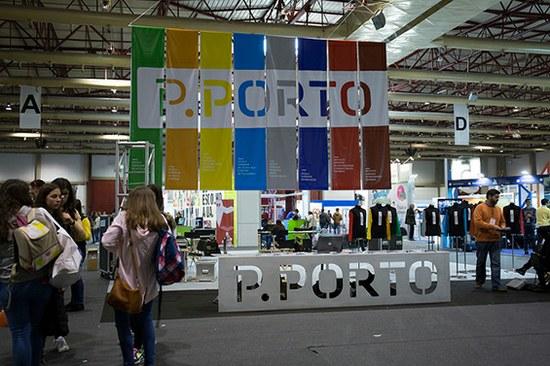 O stand do P.PORTO na edição 2016 da Qualifica.