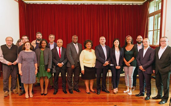 Delegação do Ministério da Cultura de Angola de visita à ESMAE
