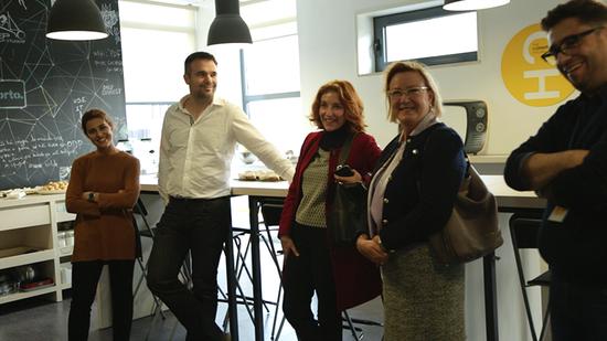 Visita da Embaixadora da Finlândia coincide com o arranque do Porto Service Jam