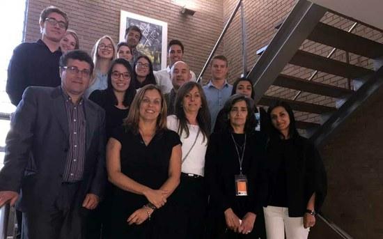 Visita da Secretária Nacional do Ministério da Educação do Brasil